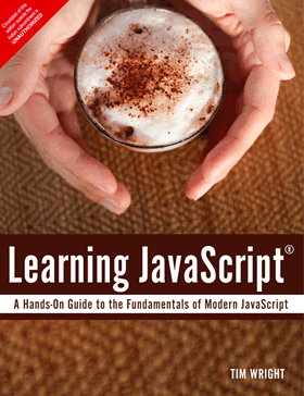 Learning JavaScript book cover